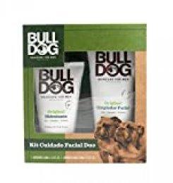 Bulldog Cuidado Facial para Hombres PACK - Set Cuidado Facial Duo, Limpiador 150ml + Crema Hidratante 100ml