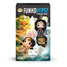 Funko 45893 Pop Funkoverse: DC 102-Expandalone Juego de Estrategia de Mesa, Multicolor