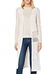 New Look Recycled Crochet Camiseta de Tirantes, Beige (Cream 13), 40 para Mujer