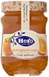 Hero Confitura Extra de Naranja Amarga Todo Natural - Paquete de 8 x 345 gr - Total: 2760 gr