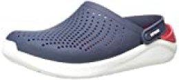 Crocs Literide Clog, Zuecos Unisex Adulto, Azul (Navy/Pepper), 42/43 EU
