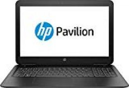 "HP Pavilion 15-bc527ns - Ordenador portátil de 15.6"" FullHD (Intel Core i7-9750H, 8 GB de RAM, 512 GB SSD, NVIDIA GeForce GTX 1650-4GB, sin sistema operativo) Negro - teclado QWERTY Español"