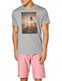 Tom Tailor Bedrucktes T-Shirt Camiseta para Hombre