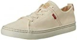 Levi's Global Vulca-Low, Zapatillas para Hombre, Blanco (R White 51), 45 EU