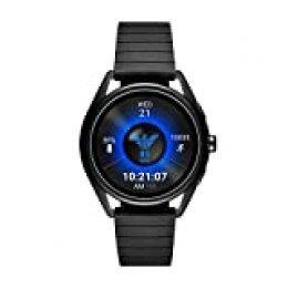 Emporio Armani Connected - Smartwatch con pantalla táctil, Negro
