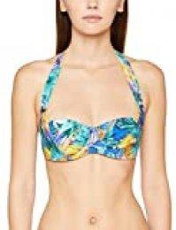Aubade Fleur Tropicale, Tops de Bikini para Mujer
