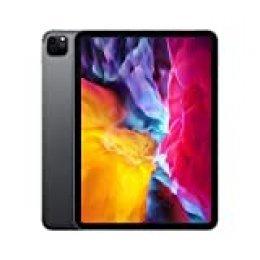 Nuevo Apple iPad Pro (de 11pulgadas, con Wi-Fi + Cellular y 256GB) - Gris espacial (2.ª generación)