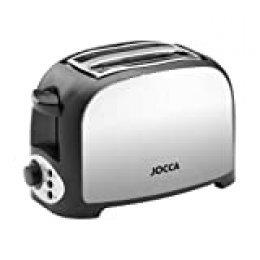 Jocca 5914P Tostador de acero, color plata, 750 W