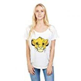 Disney Lion King Simba Camiseta para Mujer