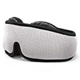 HOMMINI Antifaz para Dormir, 3D Máscara para Dormir con Ajustable Correa 100% Anti-Luz Antifaces para Los Ojos, Espuma de Memoria Transpirable y Ultra Suave máscara para Ojos para Dormir