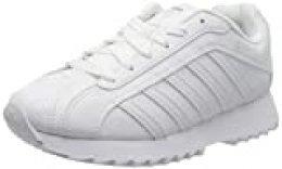 K-Swiss Verstad 2000 S, Zapatillas para Mujer, Blanco (White/White 101), 36 EU