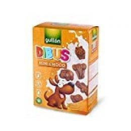 Gullón - Galletas Chocolate Dibus Mini 250g