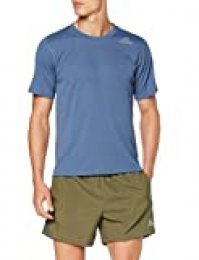 adidas FreeLift Climachill 3-Stripes tee Men Camiseta de Manga Corta, Hombre, Azul (Tech Ink), S