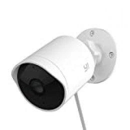 Cámaras de Vigilancia WiFi, Cámaras de Vigilancia Interior/Exterior 1080P IP65 Detección de Movimiento, 2 vías Audio,Seguridad para casa,IP CCTV Sistema Seguridad para el bebé/Mascotas