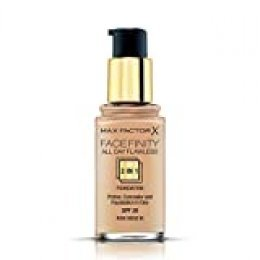 Max Factor FaceFinity 3 en 1 All Day Flawless Base de Maquillaje Tono 065 Rose Beige - 30 ml