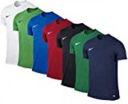 NIKE M Nk Dry Park VII JSY SS Camiseta de Manga Corta, Hombre, Pine Green/White, XL
