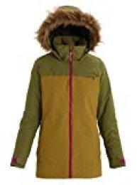 Burton Lelah Chaqueta De Snowboard, Mujer, Martini Olive/evilo, S