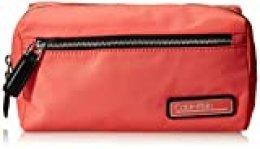 Calvin Klein - Primary Washbag, Organizadores de bolso Mujer, Rojo (Coral), 1x1x1 cm (W x H L)