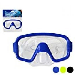 BigBuy Outdoor S1123051 Gafas de Buceo, Unisex-Adult, Azul, Talla única