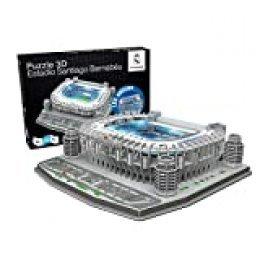 Estadio Santiago Bernabeu LED Edition (Real Madrid CF) - Nanostad - Puzzle 3D (Producto Oficial Licenciado)