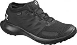 SALOMON Shoes Sense Flow GTX, Zapatillas de Running para Hombre, Negro (Black/Black/Black), 42 EU
