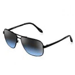 PORPEE Gafas de Sol Hombre Mujer Polarizadas Súper Ligero Al-Mg Marco De Metal | Nylon Polarizado HD | 100% UV400 Protection