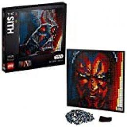 LEGO- Art Póster de Coleccionistas Star Wars: Los Sith Decoración de Pared, Set de Construcción para Adultos (31200)