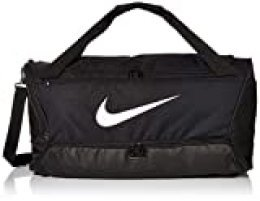 Nike Nk Brsla M Duff-9.0 (60l) Gym Bag, Unisex Adulto, Black/Black/(White), MISC