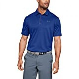 Under Armour Tech Polo, Hombre, Azul (Royal/Graphite 400), L