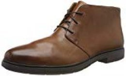 Clarks Un Tailor Mid, Botas Chukka para Hombre, Marrón (Tan Leather Tan Leather), 46 EU