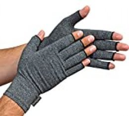 Guantes Anti-Artritis Medipaq® (Par) – Ofrecen Calor Y Compresión Para Ayudar A Aumentar La Circulación Reduciendo El Dolor Y Promover La Sanación (1 Par (Grande))