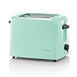 Bosch tat3a012compacta de tostadora, 980W, Mint turquesa/negro de gris