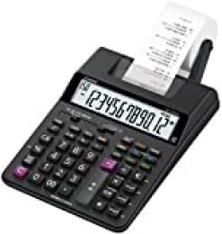 Casio HR-150RCE - Calculadora impresora, 6.5 x 16.5 x 29.5 cm, color negro