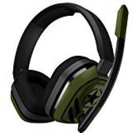 Astro Gaming A10 - Auriculares (con Micrófono y Cable Call of Duty Edition Compatibles con Playstation 4, Xbox One, Pc, Mac) Verde/Negro