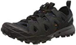 Merrell Choprock Leather Shandal, Zapatillas Impermeables para Hombre, Azul (Navy), 43.5 EU