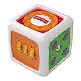 Fisher-Price - Mi Primer Cubo Fidget, Juguete de Aprendizaje bebé (Mattel FWP34)