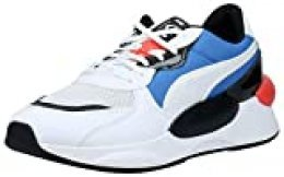 PUMA RS 9.8 Fresh, Zapatillas Unisex-Adulto, Blanco White/Palace Blue, 38.5 EU