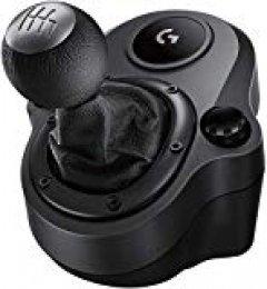 Logitech Driving Force Shifter, Palanca de Cambios para Volante G29 y G920, Playstation 4, Alámbrico, Sin Sistema operativo, Negro