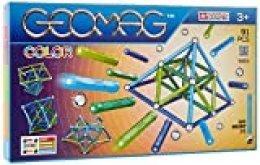 Geomag 263, Classic Color, Juego de construcción magnético, 91 Piezas, PF.510.263.00, Multicolor