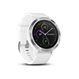 Garmin Vivoactive 3 - Smartwatch con GPS y Pulso en la muñeca, Blanco, M/L (Reacondicionado)