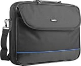 Natec NTO-0335 Laptop Bag Impala Black-Blue 15.6'' (Stiff Shock Absorbing Frame)