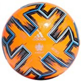 adidas UNIFO Pro WTR Balón de Fútbol, Men's, Solar Orange/Black/Glory Blue, 5