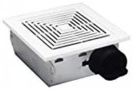 Broan 688Techo y Soporte de Pared Ventilador, 50CFM 4,0Sones, Rejilla de plástico, Color Blanco