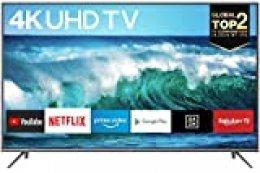TCL 43EP640, Televisor 108 cm (43 pulgadas), Smart TV con Resolución 4K, HDR10, Micro Dimming Pro, Android TV, Alexa, Google Assistant, Multicolor [Clase de eficiencia energética A]
