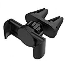 MAPUX Soporte Movil Coche Soporte para Móvil Coche para iPhone, Samsung, HUAWEI, OnePlus, Nexus, Sony, LG, HTC y Dispositivo GPS