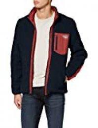 Jack & Jones Jorwillow Stand Collar Jacket Chaqueta, Azul (Navy Blazer Navy Blazer), Small para Hombre