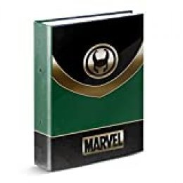Marvel LOKI-Carpeta Anillas