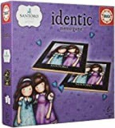 Educa- Identic Gorjuss Juego Educativo de Memoria para niños, 110 Cartas, a Partir de 6 años (17292)