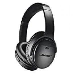 Bose QuietComfort 35 II - Auriculares inalámbricos (Bluetooth, cancelación de ruido) con Alexa integrada, Negro