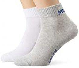 Levi's Levis Mid Cut SPRT Sock Unisex 2p Calcetines, (Pack de 2) para Hombre